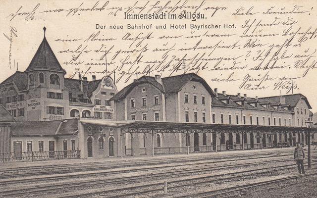 Bayrischer Hof mit Bahnhof